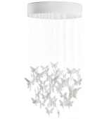 NIAGARA CHANDELIER 0,80M WHITE (CE/UK)