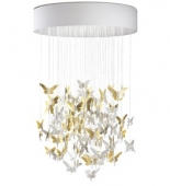 NIAGARA CHANDELIER 1.10M GOLD (CE/UK)