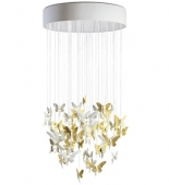NIAGARA CHANDELIER 0.80M GOLD (CE/UK)
