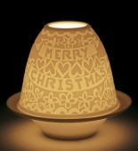 LITHOPH.VOTIVE LIGHT-CUTOUTS CHRISTMAS