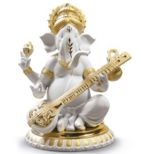 VEENA GANESHA (GOLDEN RE-DECO)
