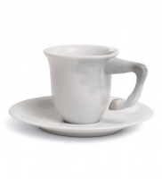 Equus coffee cup with saucer